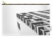 Monochrome Building Abstract 4 Carry-all Pouch