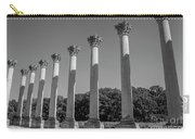 Monochrome Columns Carry-all Pouch