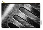 Monochrome Kitchen Fork Abstract Carry-all Pouch