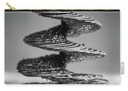 Monochrome Spiral Carry-all Pouch