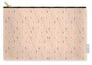 Monogram Qm Stripes Mauvecharcoal 1 Carry-all Pouch