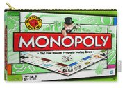 Monopoly Board Game Painting Carry-all Pouch