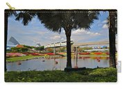 Monorail At Epcot Carry-all Pouch