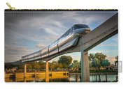Monorail At Golden Hour Carry-all Pouch