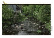 Monschau River Scene Carry-all Pouch