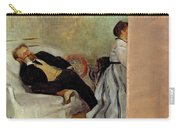 Monsieur And Madame Edouard Manet Carry-all Pouch
