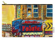 Monsieur Falafel Carry-all Pouch by Carole Spandau