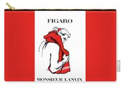 Monsieur Carry-all Pouch by Kim Kent