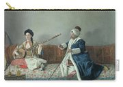 Monsieur Levett And Mademoiselle Helene Glavany In Turkish Costumes Carry-all Pouch