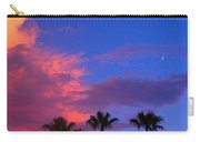 Monsoon Sunset Carry-all Pouch by James BO  Insogna