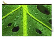 Monstera Rain Carry-all Pouch