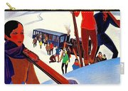 Mont Blanc, Mountain, France, Skiing Carry-all Pouch