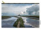 Mont Saint Michel Color Carry-all Pouch