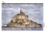 Mont Saint-michel, Normandy, France Carry-all Pouch