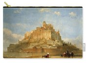 Mont St Michel From The Sands By David Roberts Carry-all Pouch