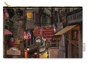 Mont-st-michel, Grand Rue At Night Carry-all Pouch