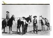 Montana: Cowboys, C1895 Carry-all Pouch