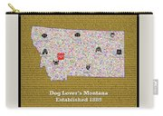 Montana Loves Dogs Carry-all Pouch