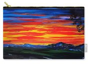 Montana Sunset Colors                     72 Carry-all Pouch