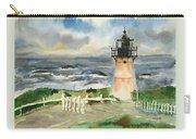 Montara Lighthouse, Plein Air Carry-all Pouch