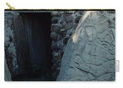 Monte Alban Danzantes Stone Carry-all Pouch