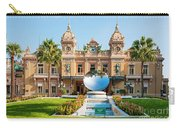 Monte Carlo Casino And Sky Mirror In Monaco Carry-all Pouch