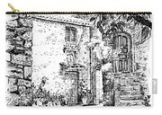 Montefioralle Tuscany Carry-all Pouch
