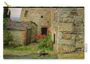 Montefollonico Stone Tower And Fortress Carry-all Pouch