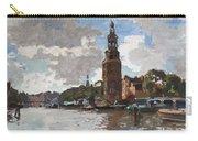 'montelbaanstoren' In Amsterdam By Cornelis Vreedenburgh Dutch 1880-1946 Carry-all Pouch