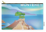 Monterey Bay California Horizontal Scene Carry-all Pouch