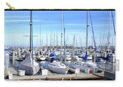 Monterey Harbor California Carry-all Pouch