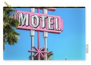 Monterey Motel Sign And The Stratosphere Carry-all Pouch