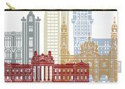 Montevideo Skyline Poster Carry-all Pouch
