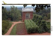Monticello Vegetable Garden Pavilion Carry-all Pouch