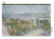 Montmartre  Behind The Moulin De La Galette Paris, July 1887 Vincent Van Gogh 1853  1890 Carry-all Pouch