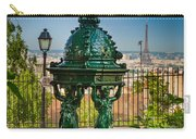 Montmartre Wallace Fountain Carry-all Pouch
