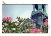 Montreal Bldg Among Flowers Carry-all Pouch