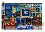 Montreal City Paintings By Streetscene Specialist Carole Spandau  Over 500 Prints Available Carry-all Pouch