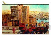 Montreal City View Carry-all Pouch