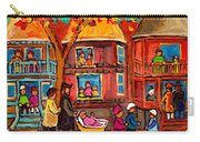 Montreal Early Autumn Carry-all Pouch by Carole Spandau