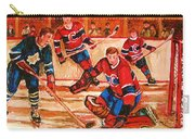 Montreal Forum Hockey Game Carry-all Pouch