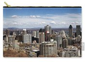 Montreal Seen From Above Carry-all Pouch