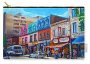 Montreal Smoked Meat Schwatrzs Deli Carry-all Pouch