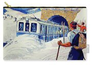 Montreux, Berner Oberland Railway, Switzerland, Winter, Ski, Sport Carry-all Pouch