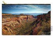 Monument Canyon And Saddlehorn Carry-all Pouch