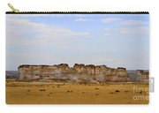 Monument Rocks In Western Kansas Carry-all Pouch