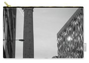 Monument To The Great Fire Of London Bw Carry-all Pouch