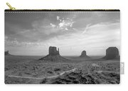 Monument Valley Monochrome Carry-all Pouch