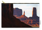 Monument Valley Pano Work D Carry-all Pouch