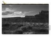 Monument Valley View - Black And White Carry-all Pouch